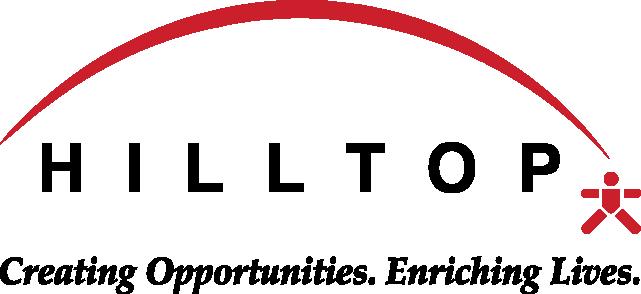 Hilltop Logo Christmas Red