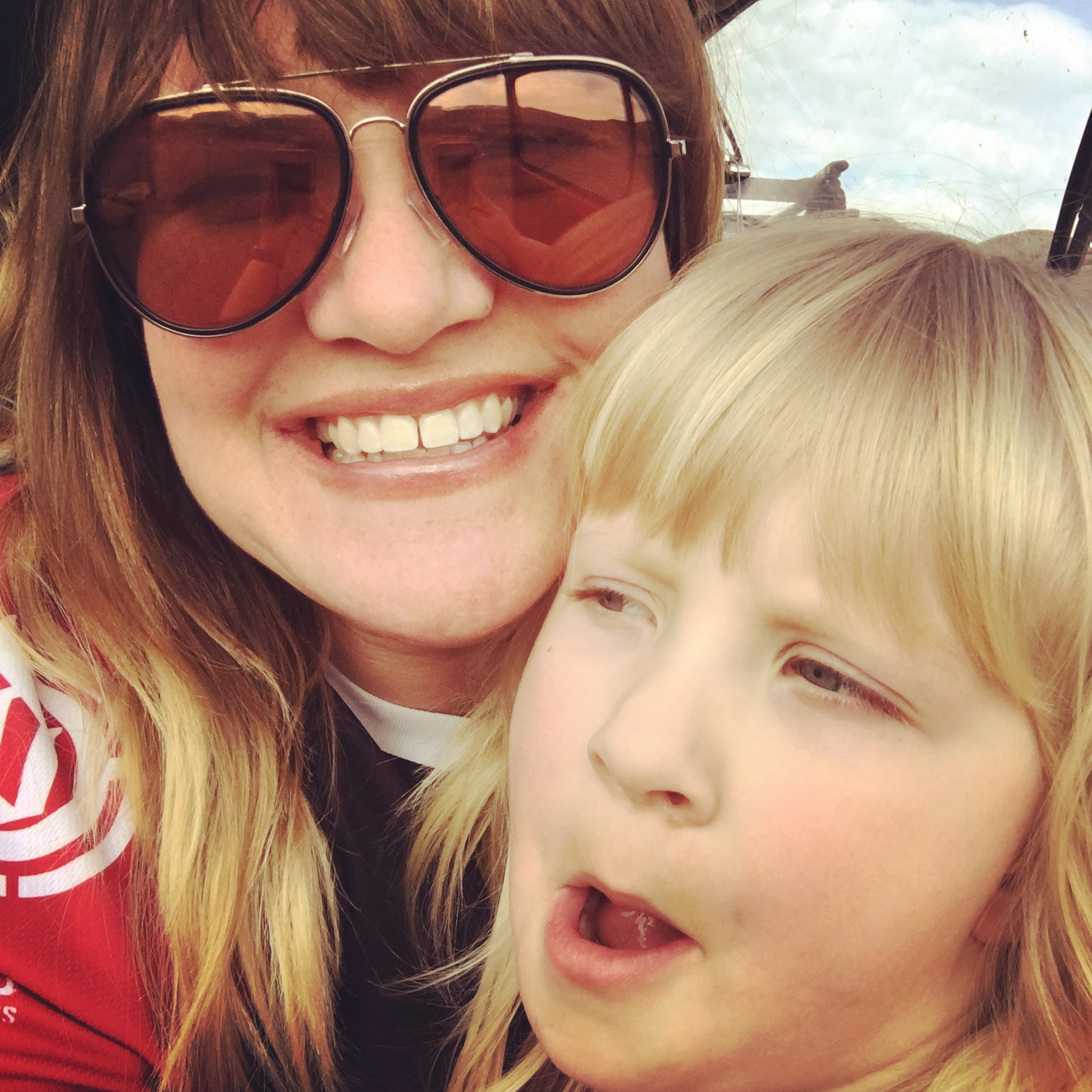 Melissa and daughter